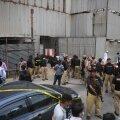 Karachis rünnati Pakistani börsi hoonet