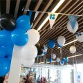 Tallinna bussijaam värvus vabariigi aastapäeva eel sinimustvalgeks