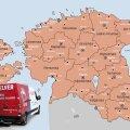 КАРТА   С июня услуга интернет-магазина Selver будет расширена на всю Эстонию