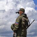 Luganski rahvavabariigi sõdur