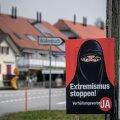 Šveitsi referendumil hääletati napilt mosleminaiste näokatete avaliku kandmise keelu poolt