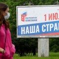 Valimisreklaam Peterburis kutsub põhiseadusreferendumile