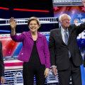 Mike Bloomberg, Elizabeth Warren, Bernie Sanders ja Joe Biden