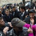 VIDEO | Prantsusmaa president Macron pahandas Jeruusalemmas Iisraeli turvameeste peale