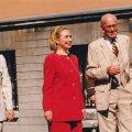 Helle Meri, Hillary Clinton, Lennart Meri
