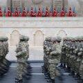 VIDEO | Bakuu võiduparaadil näidati Əliyevile ja Erdoğanile Armeenialt saadud trofeerelvi ja Aserbaidžaani sõjalist võimsust
