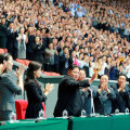 Kim Jong-un kritiseeris karmilt staadionil toimunud massietendust: vale loominguvaim ja vastutustundetu töösse suhtumine