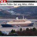 Norra saarestikus sõitis madalikule kruiisilaev