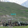 India sõdurid eile piirialadel Ladakhis