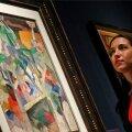 Aristarkh Lentulovi maal Christie'si oksjonimajas