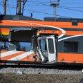 Õnnetusse sattunud Elroni rong