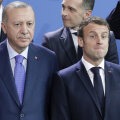 Recep Tayyip Erdoğan ja Emmanuel Macron