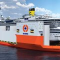 FOTO: Costa Concordia vraki võib minema toimetada hiiglaslik raskeveolaev
