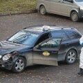 Rünnaku ohvriks langenud mehe takso Viljandis