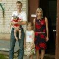 Angela ja Tõnise pere