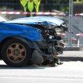FOTOD | Endla tänaval põrkasid kokku kaks sõiduautot ja üks veok
