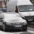 FOTOD ja VIDEO | Vaata, milline nägi täna välja lumine piirilinn Narva