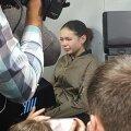 VIDEO | Harkivis autoga rahva hulka sõitnud neiu end süüdi ei tunnistanud
