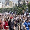ВИДЕО | В Хабаровске прошла новая акция протеста, в которой участвовали десятки тысяч человек. Людей еще больше, чем в прошлую субботу