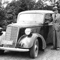 Georg Jaanson 8. juunil 1936. aastal. (Foto: Eesti Antiikautode Galerii)