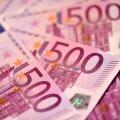 Genfis ummistasid panga tualetist alla lastud 500-eurosed ümbruskonna torud