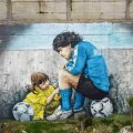 Diego Maradona mälestus elab edasi nii raamatutes, filmides kui ka seinamaalingutes.