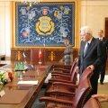 Eesti president Kersti Kaljulaid ja Itaalia president Sergio Mattarella täna Tallinnas.