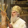 Умер патриарх Сербской православной церкви Ириней. У него был коронавирус