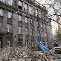 Vana-Kalamaja 9 õppehoone renoveerimiseks pole antud ühtegi luba.