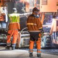 Lennujaama asfalteerimine ja öised tööd