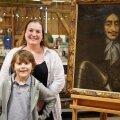 Семилетний мальчик открыл миру редкую картину XVII века. Она висела у него в кладовке