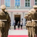 El Salvadori suursaadik andis Eesti riigipeale volikirja