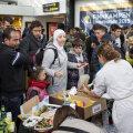 Põgenikud Malmös 2015. aastal pärast Taanist saabumist. 2015. aastal oli pagulaskriisi tipp, mil asüüli palus Rootsis ligi 150 000 inimest. Mullu oli see number ligi 22 000 (allikas AIDA)