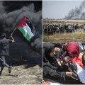 Eestlane Palestiinas: meid tervitas hambuni relvastatud sõdurite punt, lasti pisargaasi ja tulistati