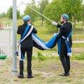 ФОТО И ВИДЕО DELFI: В честь Дня флага у Эстонского национального музея прошла торжественная церемония
