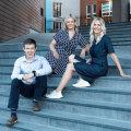 Alvar Lumberg, Triin Hertmann ja Karin Nemec