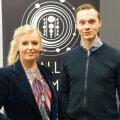 """Ingrid Peek ja Mihkel Kama Raadio 2 saate """"Hallo, Kosmos!"""" avalikul salvestusel Teletornis"""