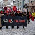 Sandra Jõgeva reportaaž: Esimene Naiste marss jäi vaoshoituks