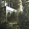 ФОТО | Необычное жилье: зеркальные домики посреди леса