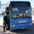 MTÜ Harjumaa Ühistranspordikeskuse korraldatud proovisõidul sügisest avataval liinil Tallinn–Peetri–Tallinn osales ka Rae vallavanem Mart Võrklaev.