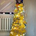 FOTO: Rakvere konkurent? Päästeameti Pirita komando tegi käepärastest vahenditest toreda jõulupuu