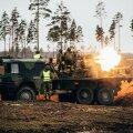 Артиллерийский батальон и Батальон ПВО провели совместные учения по стрельбе