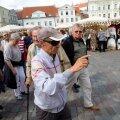 Kruiisituristid Tallinnas