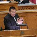ФОТО | Пятничная политическая лихорадка: Ратас остается на посту премьер-министра, вотум недоверия провалился