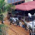 Kenya väed kahjutustavad kaubanduskeskuses lõhkekehi