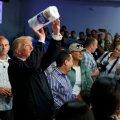 """Trump õnnitles orkaani räsitud Puerto Ricot """"tõelisest katastroofist"""" pääsemise puhul ja ülistas enda antud abi"""