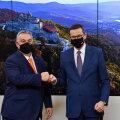 Ungari peaminister Viktor Orbán ja Poola peaminister Mateusz Morawiecki