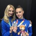 Гимнастка Аделина Беляева завоевала на Юношеских Олимпийских играх серебро в мультинациональном командном первенстве
