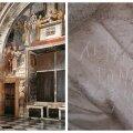 ВИДЕО   На знаменитой фреске Рафаэля в Ватикане нашли автографы Лены и Тамары из Винницы