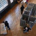 Второй тур президентских выборов во Франции проходит при невысокой явке